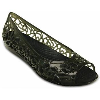 Crocs Isabella Jelly Black (UX9) 203285-001 Womens Flat