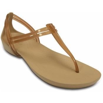 Crocs Isabella T-Strap Bronze (U2) 202467-854 Womens Sandals