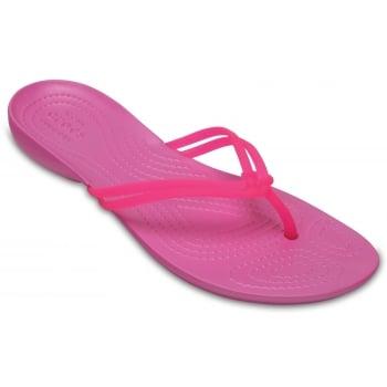 Crocs Isabella Vibrant Pink / Party Pink (Z20) 204004-69I Womens Flips
