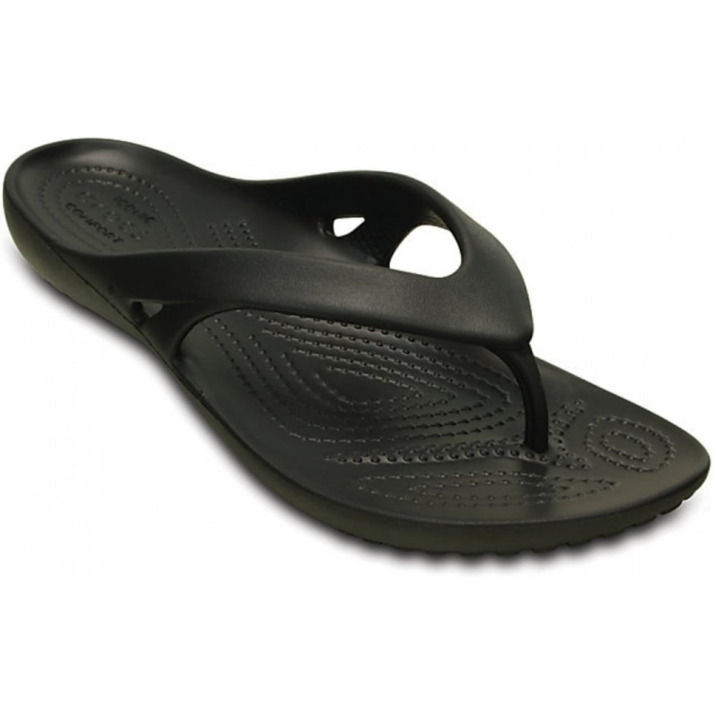 crocs crocs kadee ii black ux1 202492 001 womens flip flop crocs from pure brands uk uk. Black Bedroom Furniture Sets. Home Design Ideas