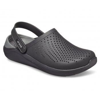 Crocs Literide Black / Slate Grey (UX1) 204592-0DD Mens Clogs