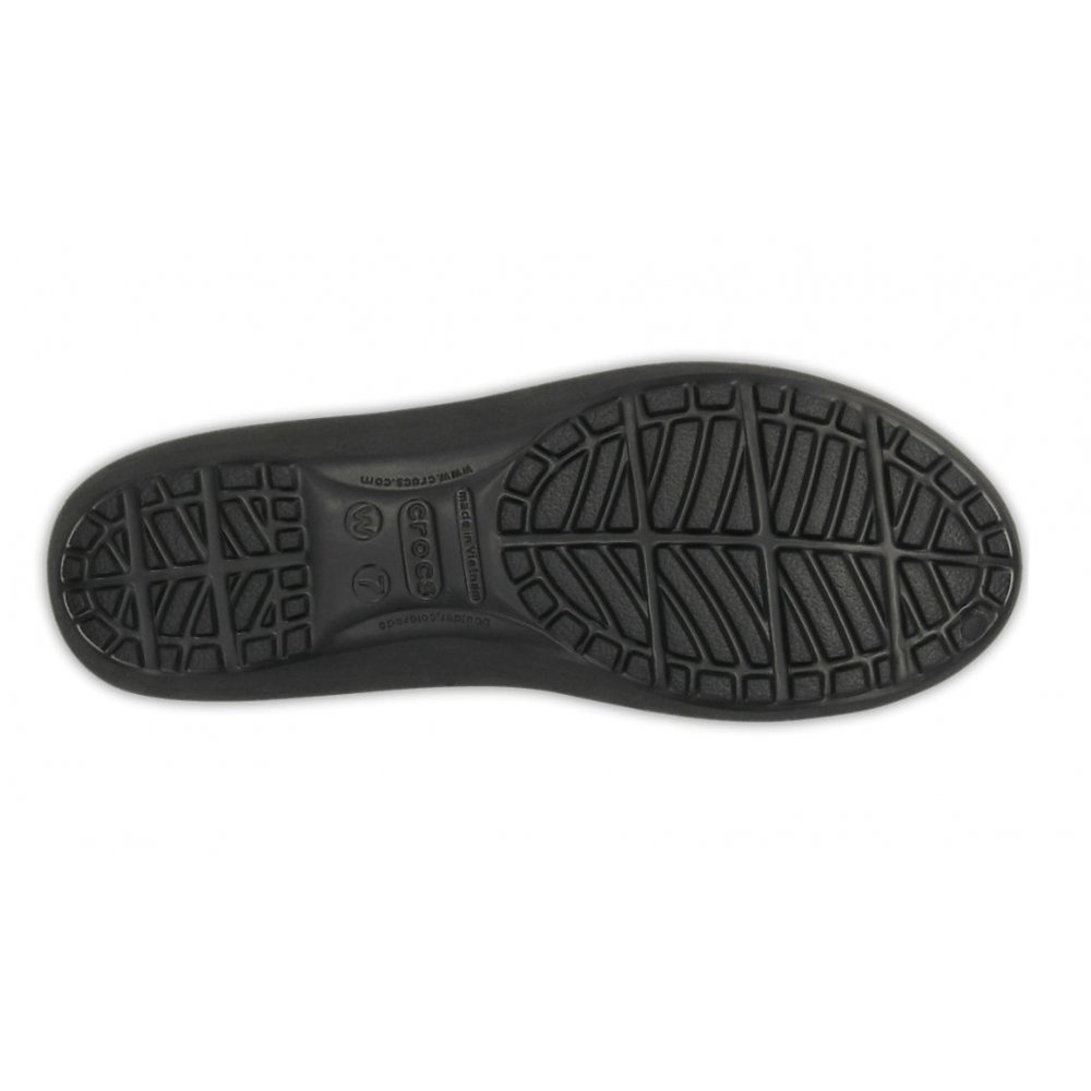 322ee6eb1494 ... Crocs Mammoth Leopard Lined Black   Black (UX7) Womens Flat Shoes. ‹