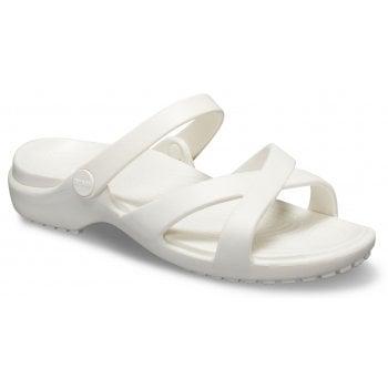 Crocs Meleen Crossband Oyster (UX3) 205472-159 Ladies Sandal