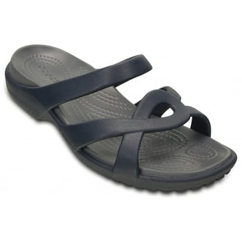 Crocs Meleen Twist  Navy / Storm (U3) 202497-4DF Ladies Sandal