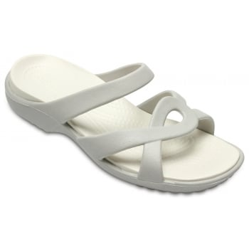 Crocs Meleen Twist Peal White / Oyster (Z14) 202497-16L Ladies Sandal