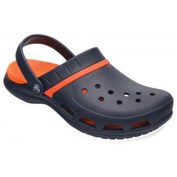 Crocs Modi Sport Navy / Tangerine (UX7) 204143-4V9 Unisex Clogs