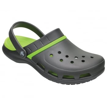 Crocs Modi Sport Navy / Tennis Ball Green (U2) 204143-4G0 Unisex Clogs