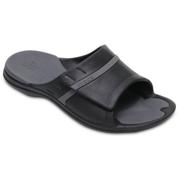 Crocs Modi Sport Slide Black / Graphite (U1) 204144-02S Unisex Slipper