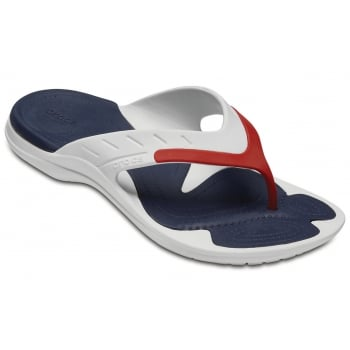 Crocs Modi Sport White / Navy / Pepper (U2) 202636-1C3 Mens Flips
