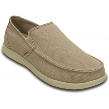 Crocs Santa Cruz Clean Cut Khaki / Cobblestone (SC-C3) 202972-2U6 Mens Shoes