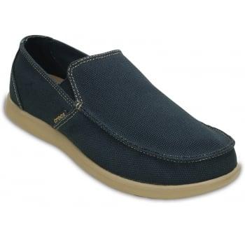 Crocs Santa Cruz Clean Cut Navy / Tumbleweed (F2) 202972-4BM Mens Shoes