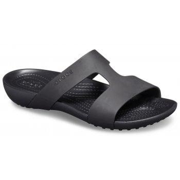 Crocs Serena Slide W Black / Black (UX6) 205675-060 Ladies Sandal