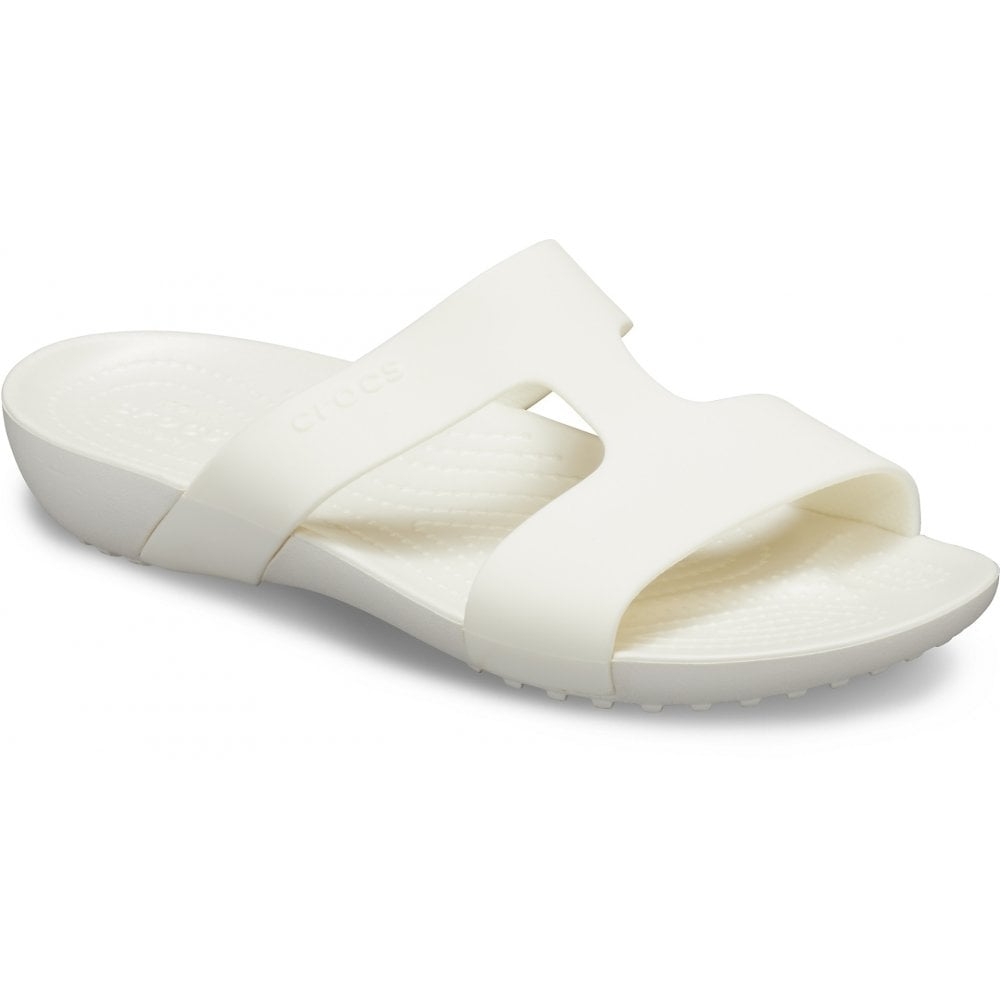 b3fa175c237f Crocs Crocs Serena Slide W Oyster (UX2) 205675-12U Ladies Sandal ...