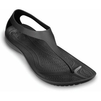 Crocs Sexi Flip Black / Black (UX1) 11354-060 Womens Sandal