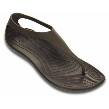 Crocs Sexi Flip Espresso / Espresso (U3) 11354-22Z Womens Sandal