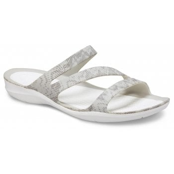 Crocs Swiftwater Cardio Wave Pearl White (Z17) 206439-115 Womens Sandals
