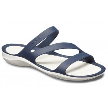 Crocs Swiftwater Navy / White (UX1) 203998-462 Womens Sandal