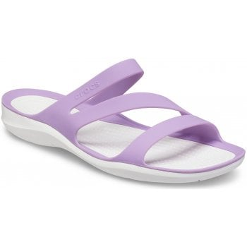 Crocs Swiftwater Orchid (U1) 203998-5PR Womens Sandals