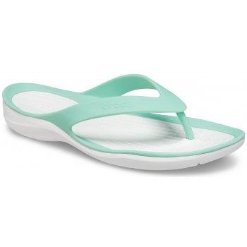 Crocs Swiftwater Pistachio (Z108) 204974-3U3 Womens Flips