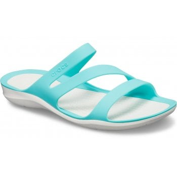 Crocs Swiftwater Pool / White (U1) 203998-4DY Womens Sandal