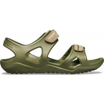 Crocs Swiftwater River Army Green / Khaki (U2) 203965-345 Mens Sandals
