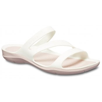Crocs Swiftwater White / Rose Dust (UX6) 203998-0EZ Womens Sandal
