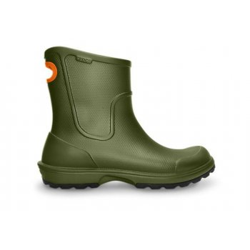 Crocs Wellie Rain Army Green (U2) Mens Boots