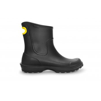 Crocs Wellie Rain Black (N16) Mens Boots