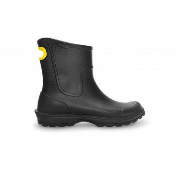 Crocs Wellie Rain Black (N16) Mens Boots