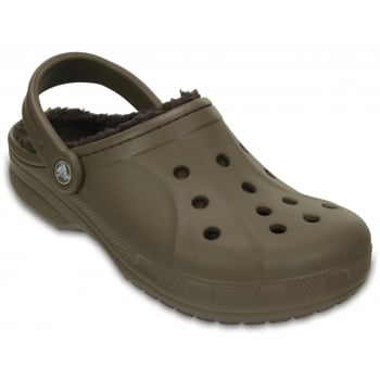 Crocs Winter Lined Walnut / Espresso (UX2) 203766-23J Unisex Clog