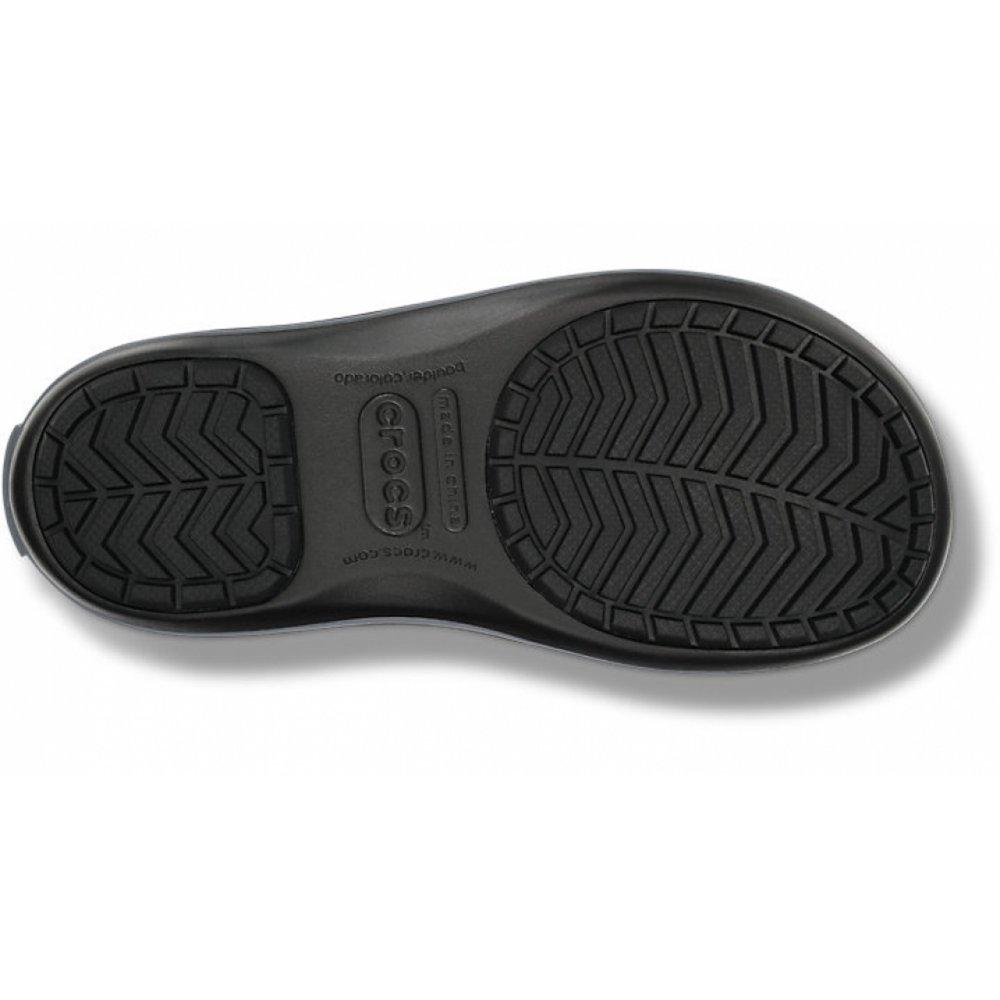 Crocs Crocs Winter Puff   Snow Black   Charcoal (U1) Womens Boots ... 00b94259080