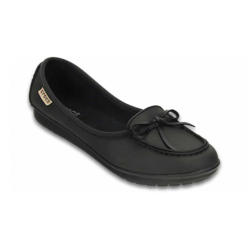 92e71a484 Crocs Crocs Wrap ColorLite Black   Black (N200) Womens Ballet Shoes ...