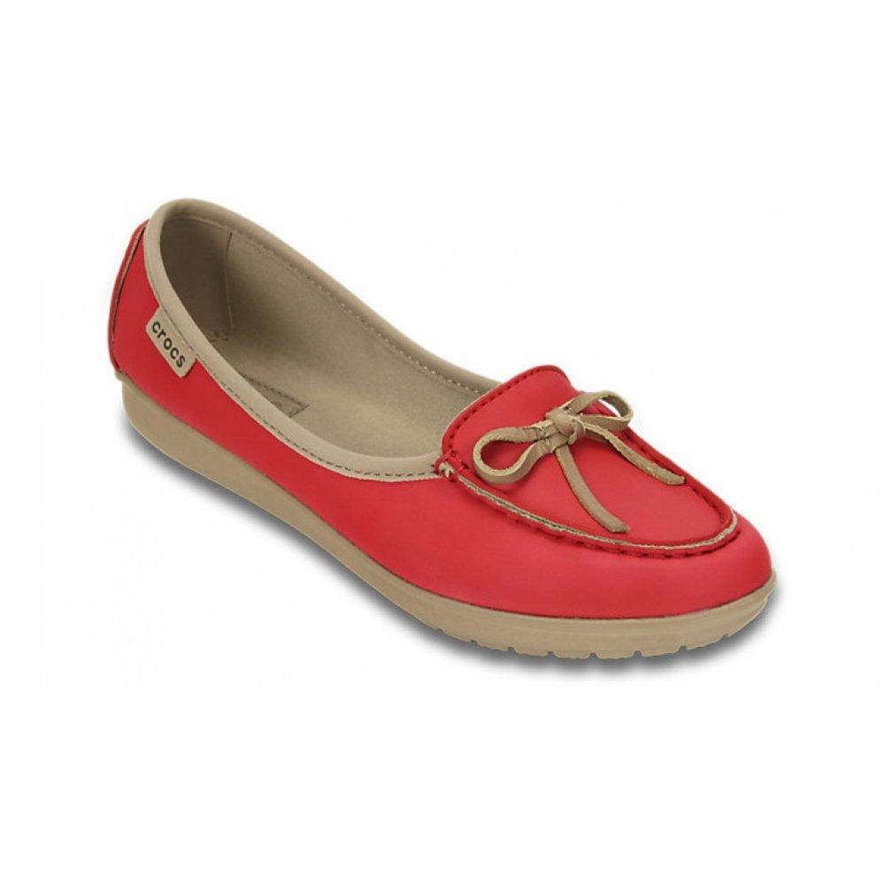 Crocs Crocs Wrap ColorLite Pepper / Tumbleweed (N17b / U1) Womens Ballet  Shoes ...