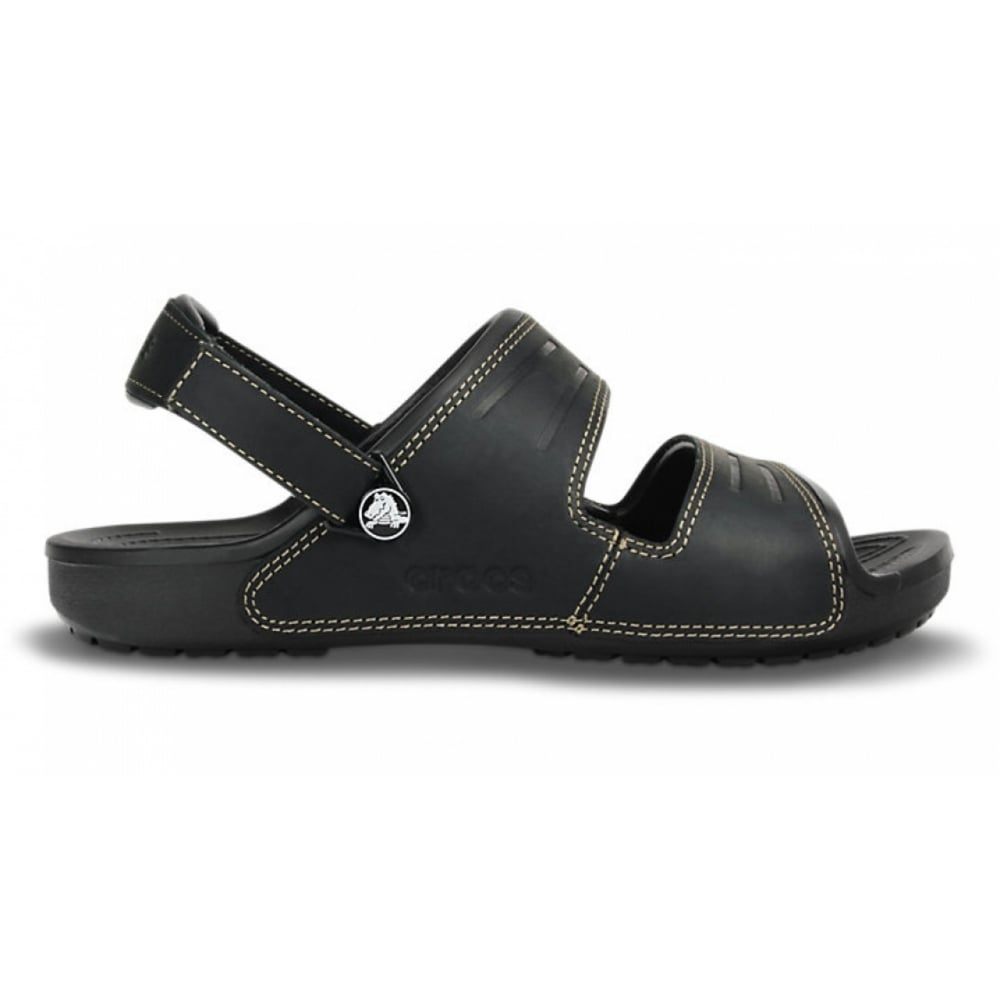 e8e6f78c8123 Crocs Crocs Yukon 2 Strap Black   Black (UX8) 14325-060 Mens Sandals ...