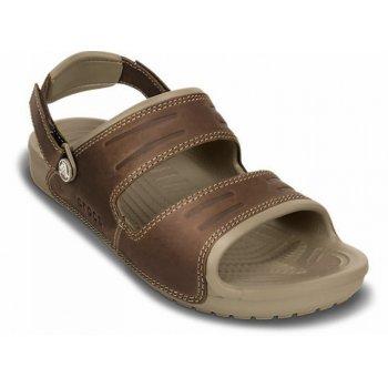 Crocs Yukon 2 Strap Khaki / Espresso (UX2) 14325-23G Mens Sandals