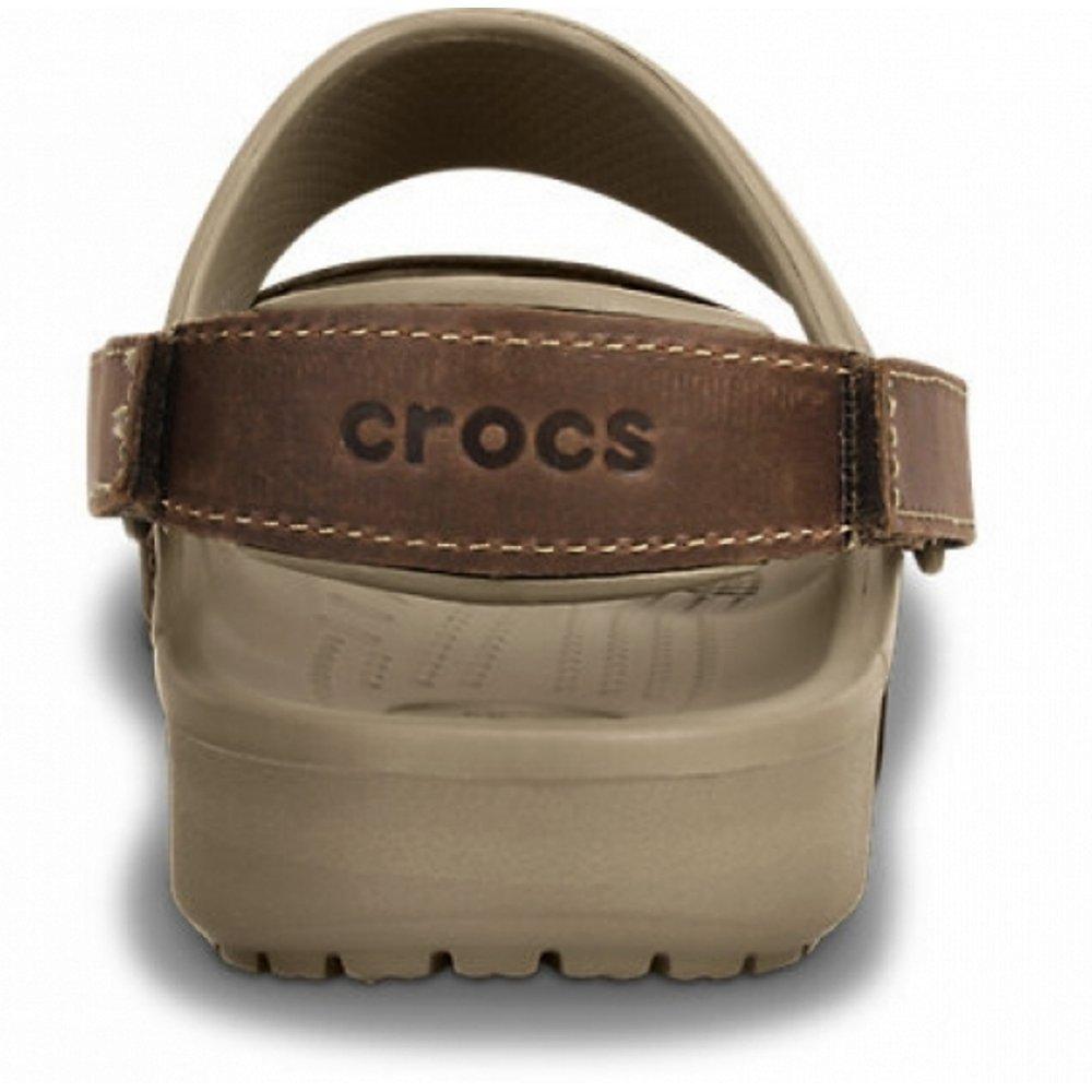 d3abab904333 ... Crocs Yukon 2 Strap Khaki   Espresso (UX2) 14325-23G Mens Sandals. ‹
