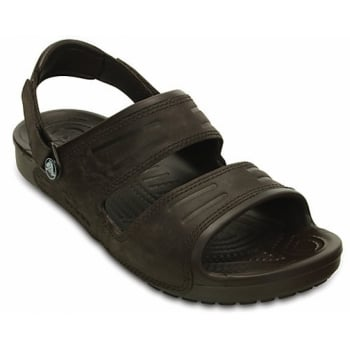 Crocs Yukon 2 Strap Mahogany (UX6) 14325-2L3 Mens Sandals