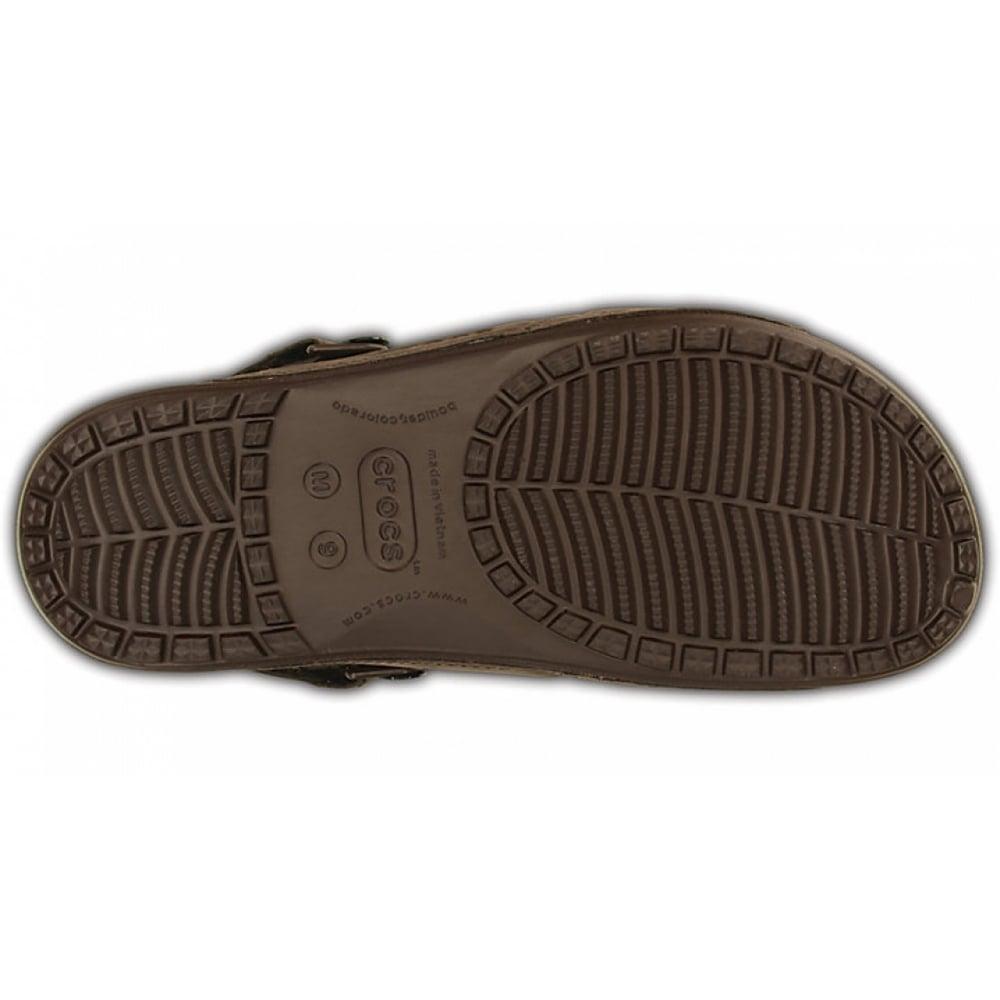 096d054435d8 Crocs Crocs Yukon 2 Strap Mahogany (UX6) 14325-2L3 Mens Sandals ...