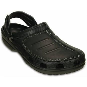 Crocs Crocs Yukon Mesa Black / Black (UX-3) 203261-060 Mens Clogs