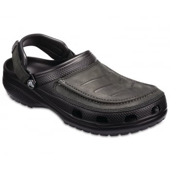 Crocs Yukon Vista Black / Black (Z5) 205177-060  Mens Clogs