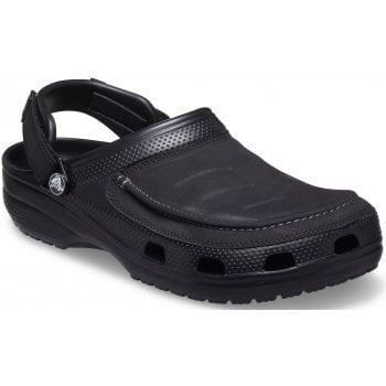 Crocs Yukon Vista II Black (UX-7) 207142-001 Mens Clogs