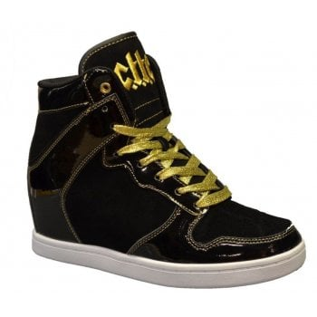Cute To The Core Clutch Black / Gold (N80) C6000BK06 Ladies Trainers