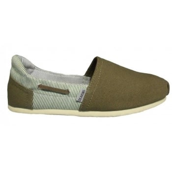 Deakins Danver Khaki (F10) Mens Slip On Shoes