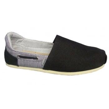 Deakins Danver Black (N90) Mens Slip On Shoes