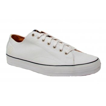 Deakins Hooper White Canvas (N64) Mens Trainers