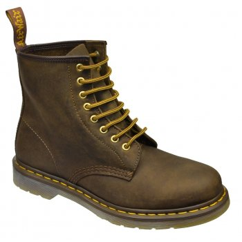 Dr Martens 1460 - 8 Hole Eyelet Brown-Crazy Horse (A11 / Z30) 11822200 Mens Boots