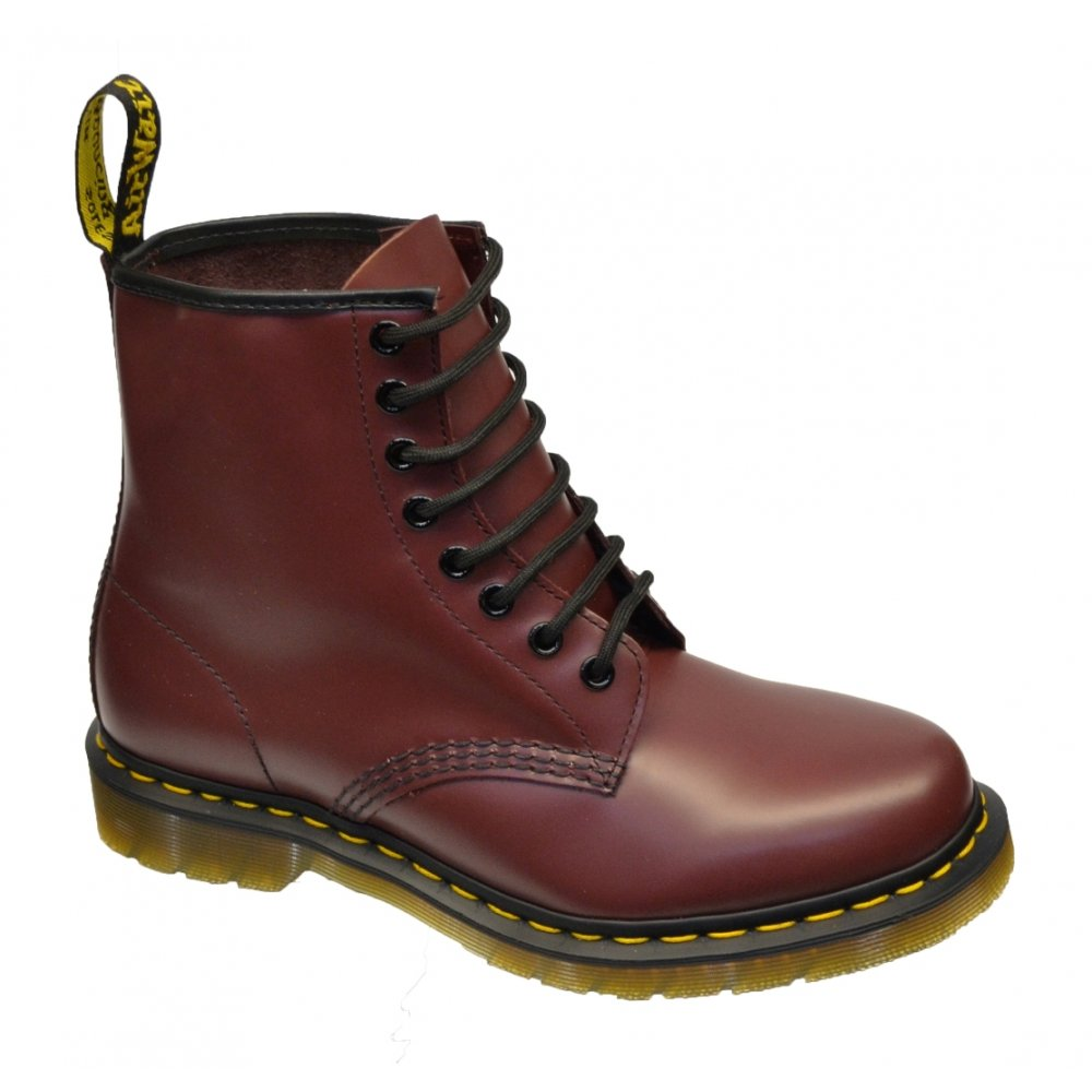 dr martens dr martens 1460 8 hole eyelet cherry red f1 z29 mens boots dr martens from pure. Black Bedroom Furniture Sets. Home Design Ideas