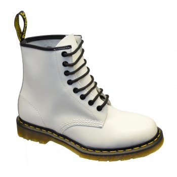 Dr Martens 1460 - 8 Hole Eyelet White (F4) Unisex Boots