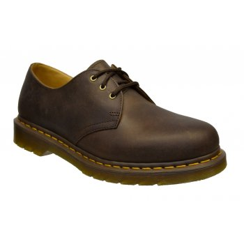 Dr Martens 1461 3 Hole Eyelet Crazy Horse Gaucho Brown (Z2) 11838201 Mens Shoes