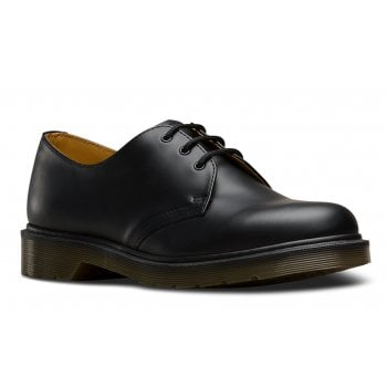 Dr Martens 1461 PW 3 Hole Eyelet Black (N104) Mens Shoes
